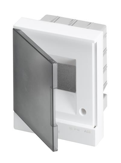 Модульный щит производства АББ / ABB пластик,  для установки автоматических выключателей