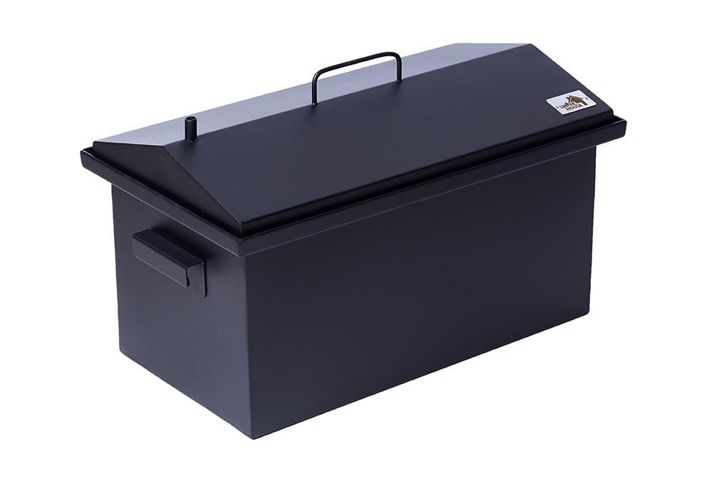 Коптильня для копчения окрашенная Домик 2 мм 520х300х310 h-021