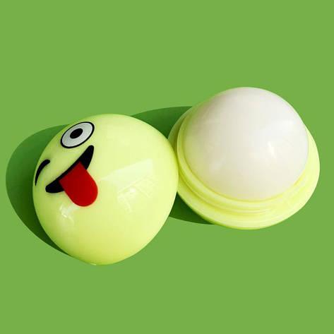 Ароматизированный бальзам для губ EOS ЕОС Smile Смайл Желтый 20 г, фото 2