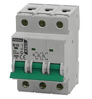 Автоматический выключатель KS6 B6/3 3п. 6А, 6кА, х-ка В
