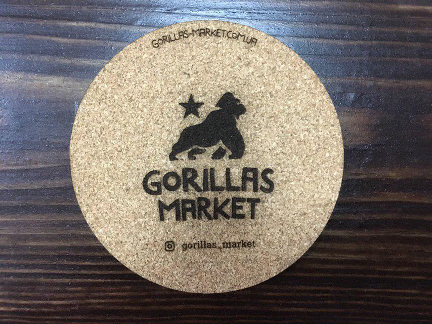 Костер пробковый (1шт) Gorillas Market