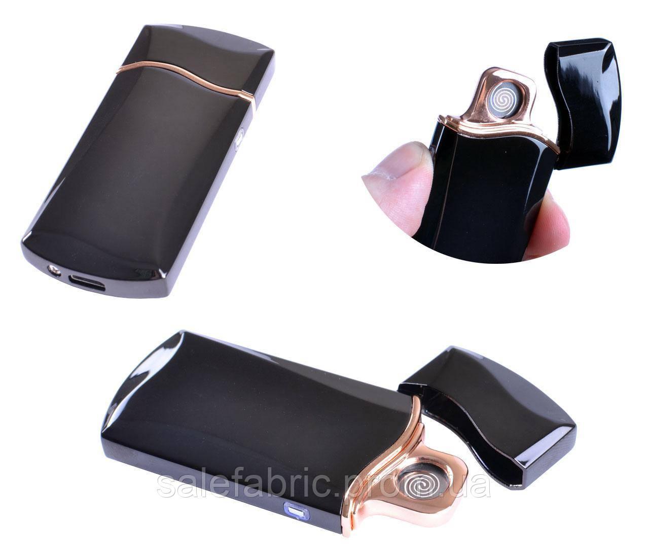 USB  зажигалка в подарочной упаковке FLAMINGO (Cпираль накаливания) №XT-4955-1