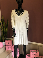 Вязаное трикотажное женское платье, Lato