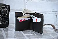 Мужское портмоне из натуральной кожи ручной работы кожа Кабир