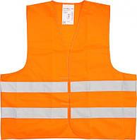 Жилет сигнальный оранжевый XXXL Vorel 74663