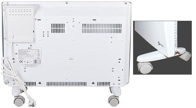 Установка конвектора RB2-2000