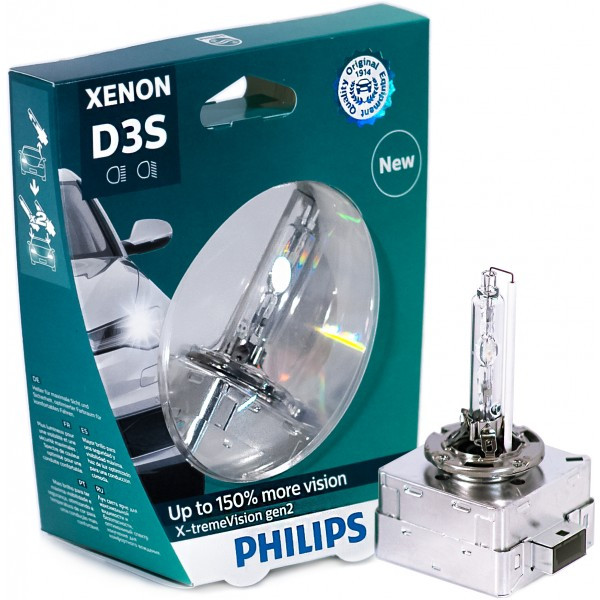 Ксенон D3S Philips X-tremeVision gen2