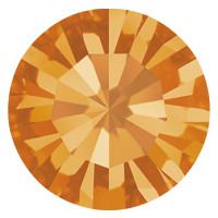 Пришивные стразы в цапах Preciosa (Чехия) ss20 Sun/серебро