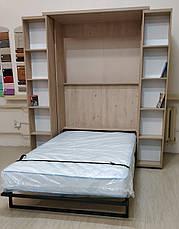 Шкаф кровать  библиотека, фото 3