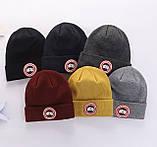 Шапка CANADA AVIATOR для дорослих і підлітків бавовна шапки канада гус, фото 2