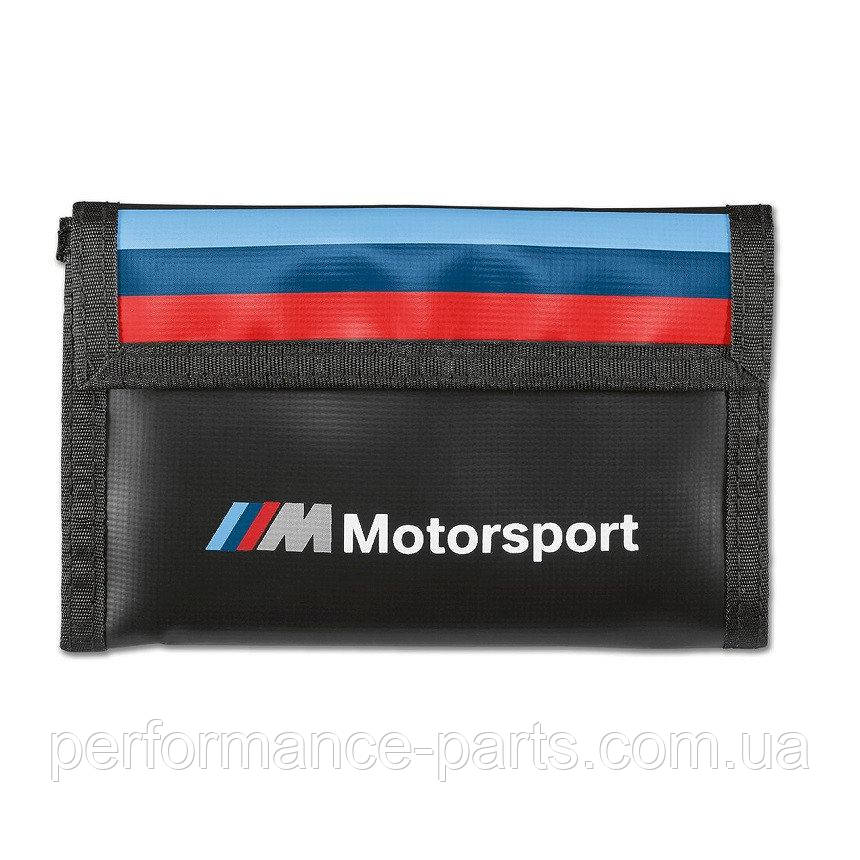 Кошелек BMW M Motorsport Wallet  Black  80212461148