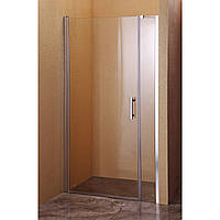 Душевая дверь Sansa SH-708, профиль brushed, стекло прозрачное 6мм, 100 х 185 см
