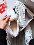 Чоловічі зимові кросівки New Balance 574 (білі), фото 3