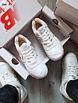 Чоловічі зимові кросівки New Balance 574 (білі), фото 4