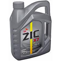 Масло ZIC X7 10W40 4л (синтетика)