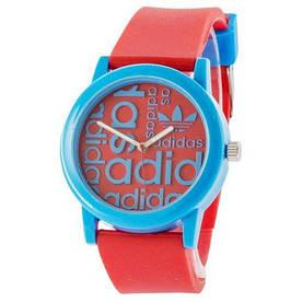 Наручные часы эконом Adidas Blue-Red Silicone