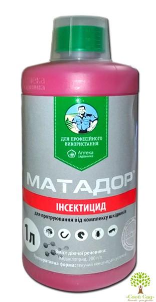 """Протравитель """"Матадор"""" 1 л, оригинал"""