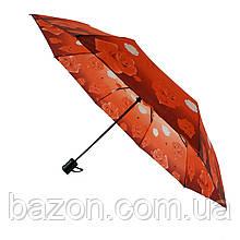 Женский полуавтоматический зонтик Lima на 8 спиц с цветочным принтом, 310-7