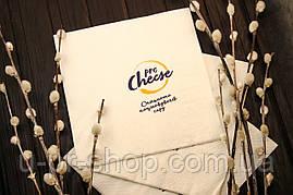 Бумажные салфетки с логотипом