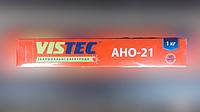 СВАРОЧНЫЕ ЭЛЕКТРОДЫ - АНО-21 д. 2,5 мм уп. 1,0 кг (ВИСТЕК)