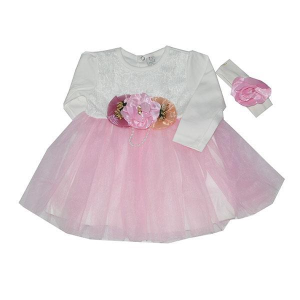 Платье  с розами ,размер 9-12 мес (3 ед. в уп.)