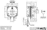 Двигатель обдува полюсной ELCO NET3T10ZVN001 (10Вт), фото 2