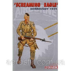 Soldier of 101st US Airborne Division Screaming Eagle (Normandy 1944) 1/16 Dragon 1605