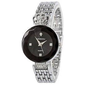 Наручные часы эконом Baosaili Silver-Black