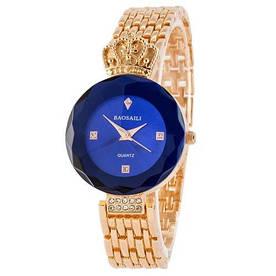 Наручные часы эконом Baosaili Gold-Blue