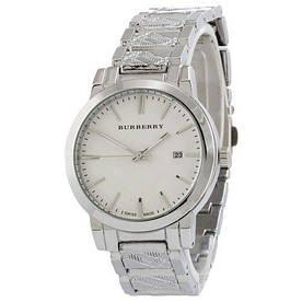 Наручные часы эконом Burberry B32 Silver-White