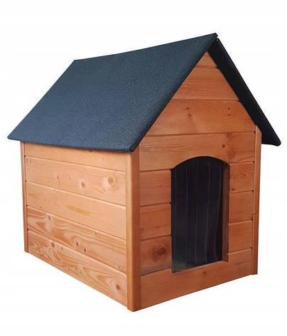 Утепленная будка для большой собаки из дерева  Four Seasons XXL, фото 2