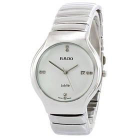 Наручные часы эконом Rado B20 Silver-White-Cristal