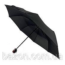 Компактный мужской зонт-полуавтомат Swifts, черного цвета, 16033
