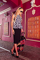 Платье с баской   Chalin jd, фото 2