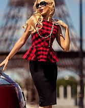 Платье с баской   Chalin jd, фото 3
