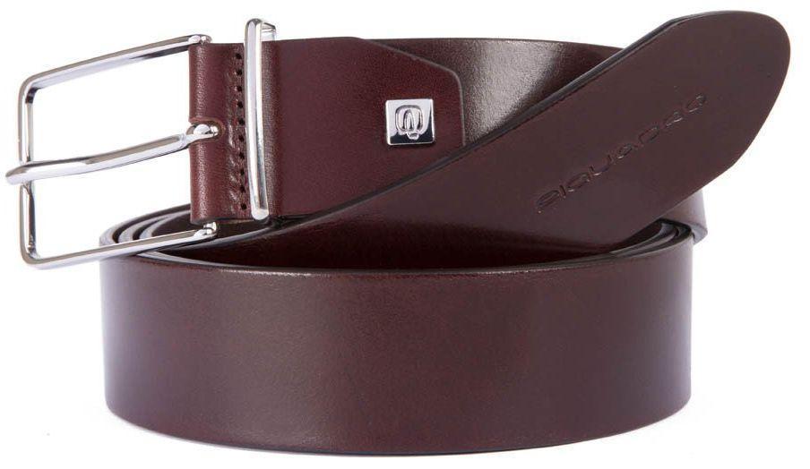 Мужской кожаный ремень Piquadro С71 коричневый 3,5 см