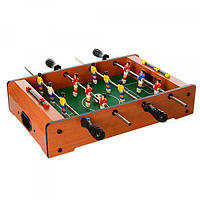 Настольный футбол детский на штангах деревянный 53х30.5х6см Limo Toy