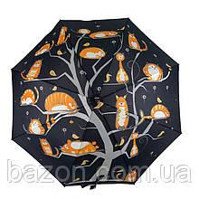 Женский зонтик трость, полуавтомат на 8 карбоновых спиц SWIFT, 1112-2