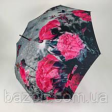 Женский зонтик трость, полуавтомат на 8 карбоновых спиц SWIFT, 1112-4