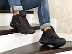 Мужские зимние кроссовки Reebok I3 (черно-красные), фото 3