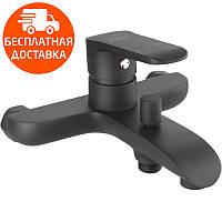 Смеситель для ванны  Invena Siros BW-90-004 черный, фото 1