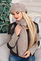 Комплект «Вива» (берет и шарф)  3000-10