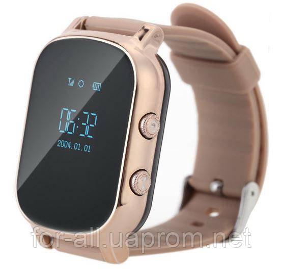 Ajnj Часы с трекером Smart GPS Watch T58 gold