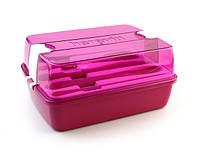 Ланч-бокс 9х13.5х18.5 см Maxx Pink Herevin XB-161275-008
