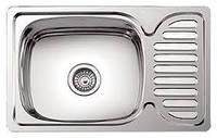 Мойка Platinum 660х420 из нержавеющей стали на кухню