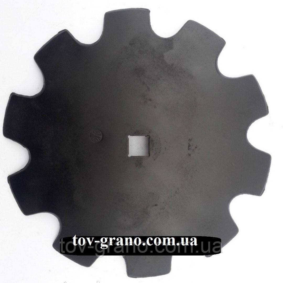 ДИСК BOMET ромашка (U363) 460мм, кв.31; 510мм. толщина 4мм. СТ65Г, БОР.