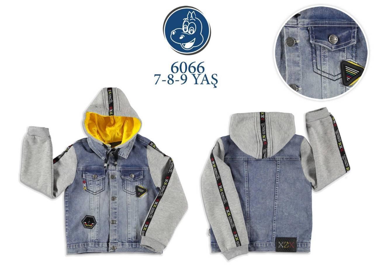 Джинсовая куртка на мальчика 7,8,9 лет