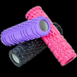Массажный роллер Grid Roller Mini 30х10 см