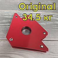 Магнітний тримач YATO (OLD MASTER), магніт зварювальний, фіксатор для зварювання 34.5