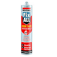 Клей-герметик FIX ALL HT INVISIBLE 290мл SOUDAL (000020000000080101)